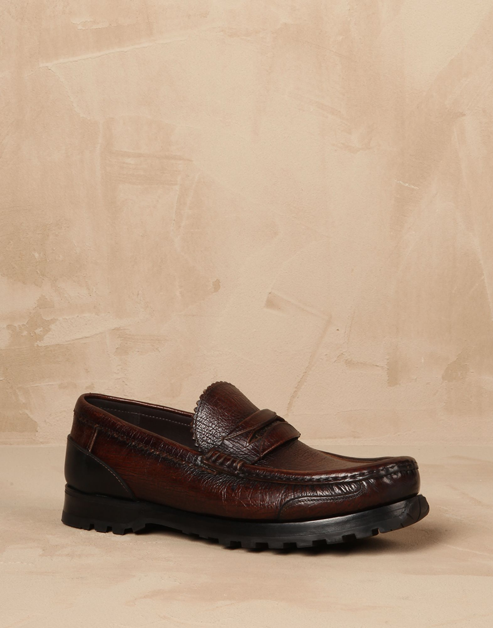Leather genova loafers Men - Dolce&Gabbana