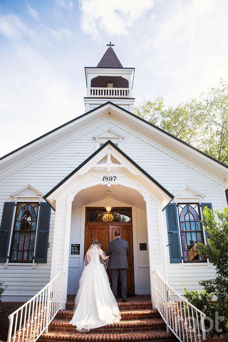 Estate On The Halifax Wedding Chapel Ceremony In Port Orange Fl Estateonthehalifax Root Weddi Fairytale Weddings Groom And Groomsmen Suits Chapel Wedding