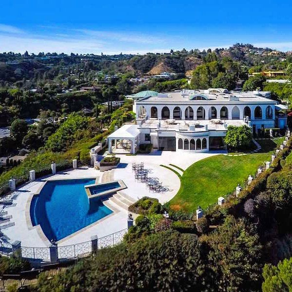 Currently owned by Comedian and Philanthropist Danny Thomas. This lavish 18,000 sq ft residence in Beverly Hills acclaimed Trousdale Estate has hit the market for $135,000,000. If sold for the asking the property will take the title of being the most expensive home ever sold in Beverly Hills! | Listed by @JohnAaroeGroup