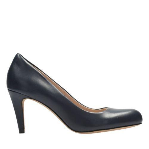 8e4f2ed8b5e Dinah Keer Black Leather - Women s Heels - Clarks® Shoes Official Site