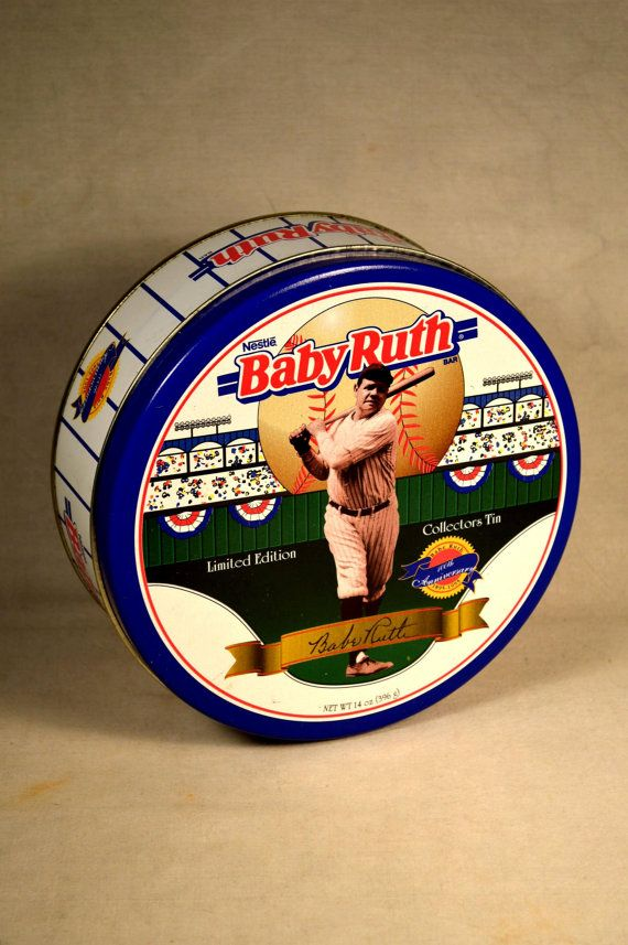 Promotional Baby Ruth Tin Babe Advertising by ...