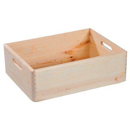 Kesper Allzweckkiste Kiefer 50 L Kiste Obi Aufbewahrungsbox