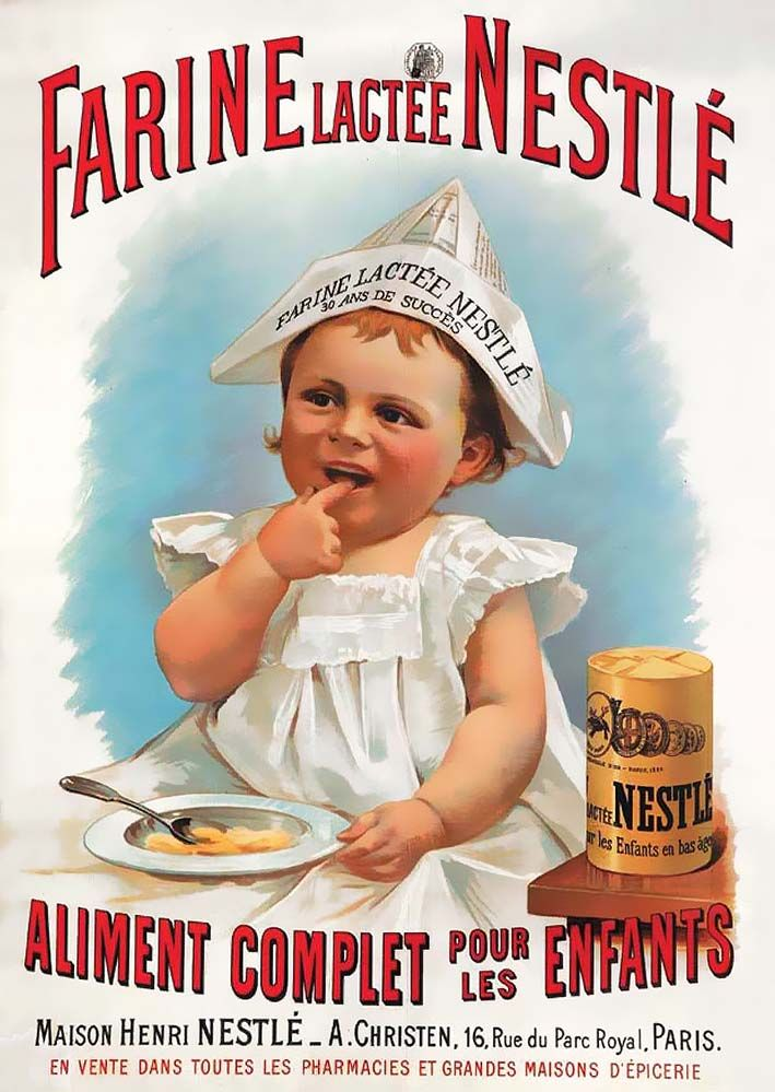 Publicitados: Anuncio de harina láctea Nestlé para niños ...