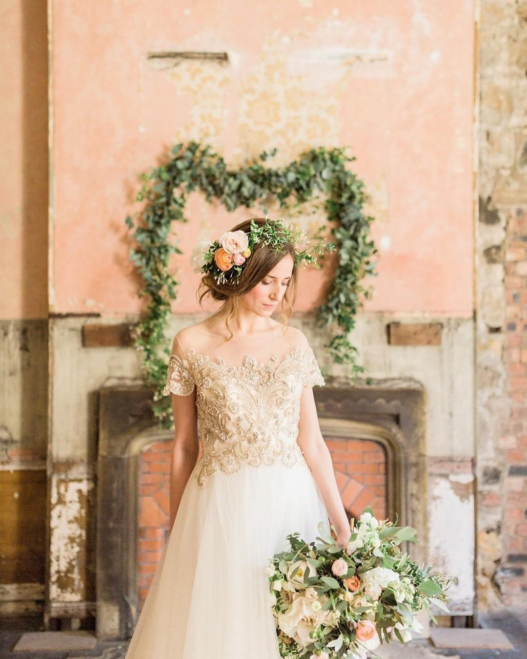 So in love with the florals against the walls of this beautiful venue.  Discover more on our new blog post today - link in profile.  Thanks to everyone who took part -  venue: @brinkburnnorthumberland  photography: @katymelling  florals: @bels_flowers  hair: @tinaelliottstyling  calligraphy: @brahminletteringco  cakes: @the_master_cakesmith  silk ribbon: @katecullenstyle  tableware: @pettigrovelane  rose quartz ring: @thomassabo  ring box:  @the_mrs_box plus model April Bowden Make-up by Jo…