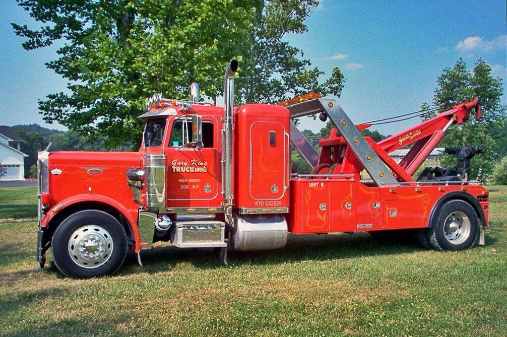 Pin by Keven Minchau on Peterbilt 359 (With images) Tow
