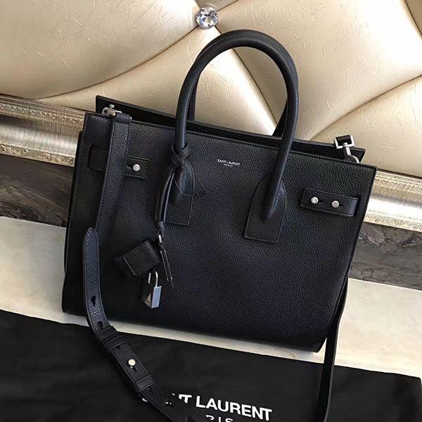 ysl souple sac de jour 2017 black tote bag [ysl souple sac de jour ...
