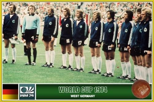 1974 West Germany | Fussball weltmeister, Weltmeister ...