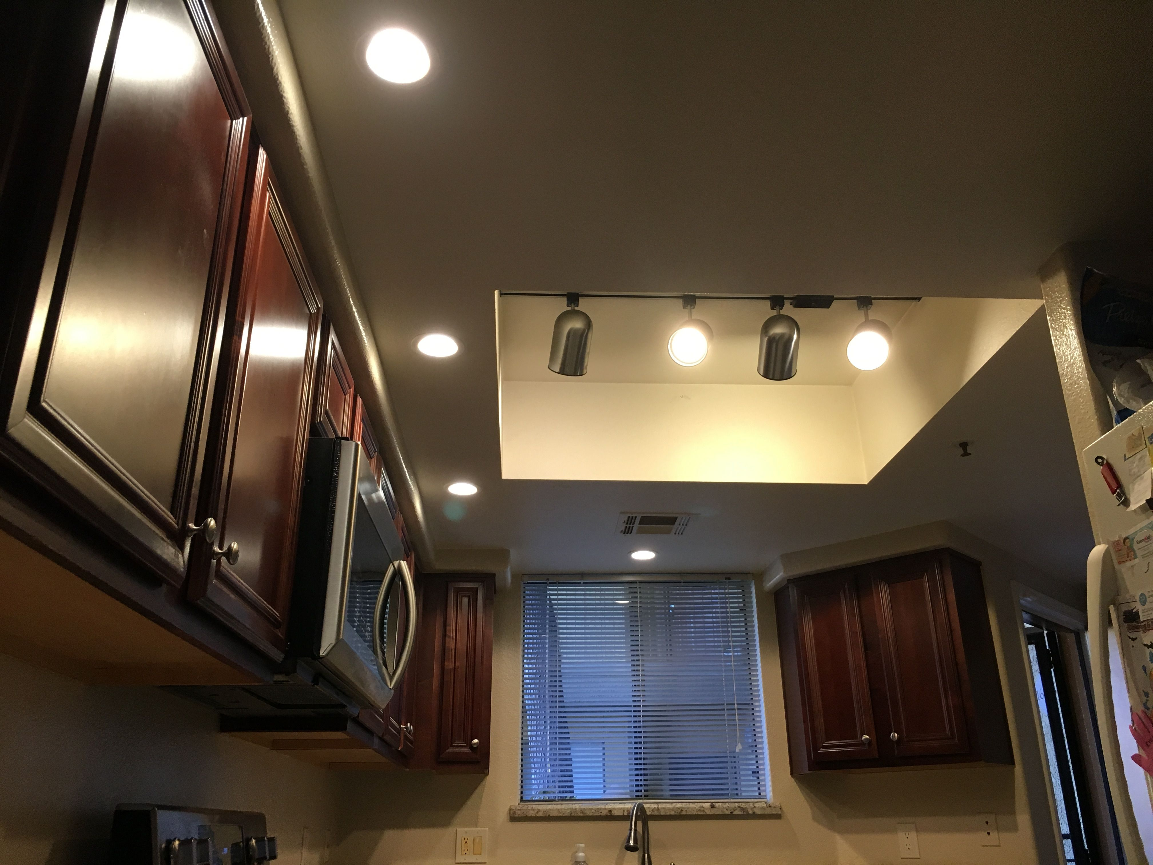 Kitchen lightinginstalled new switch 4 3000k 4 inch recessed kitchen lightinginstalled new switch 4 3000k 4 inch recessed lights on a aloadofball Gallery
