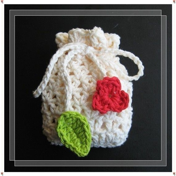 PATTERN crochet soap saver bag gift bag pouch by LilyKnitting ...