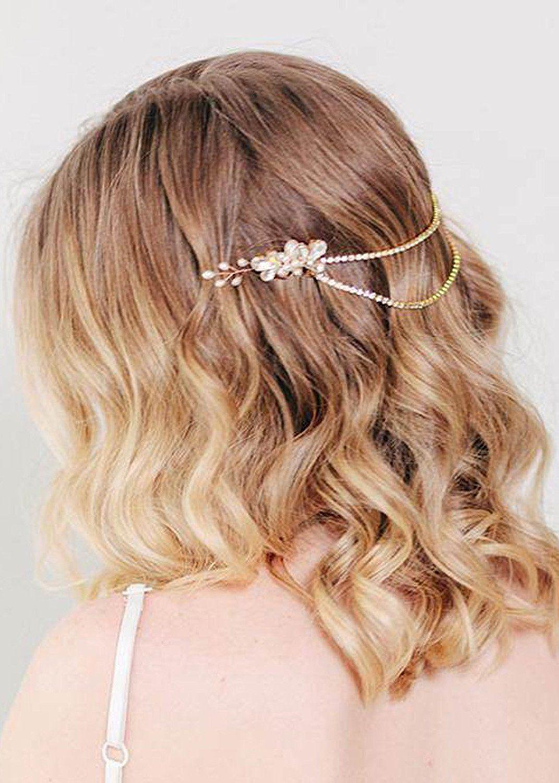 amazon: missgrace wedding bridal crystal rhinestone bridal