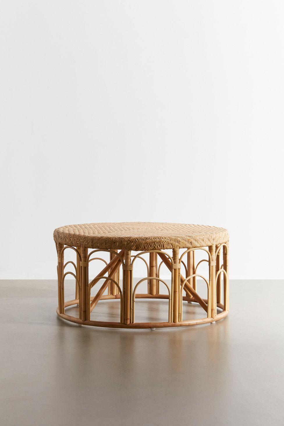Lulu Rattan Coffee Table Rattan Coffee Table Coffee Table Urban Outfitters Wicker Coffee Table [ 1463 x 976 Pixel ]