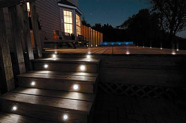 Low Voltage Outdoor Step Lighting