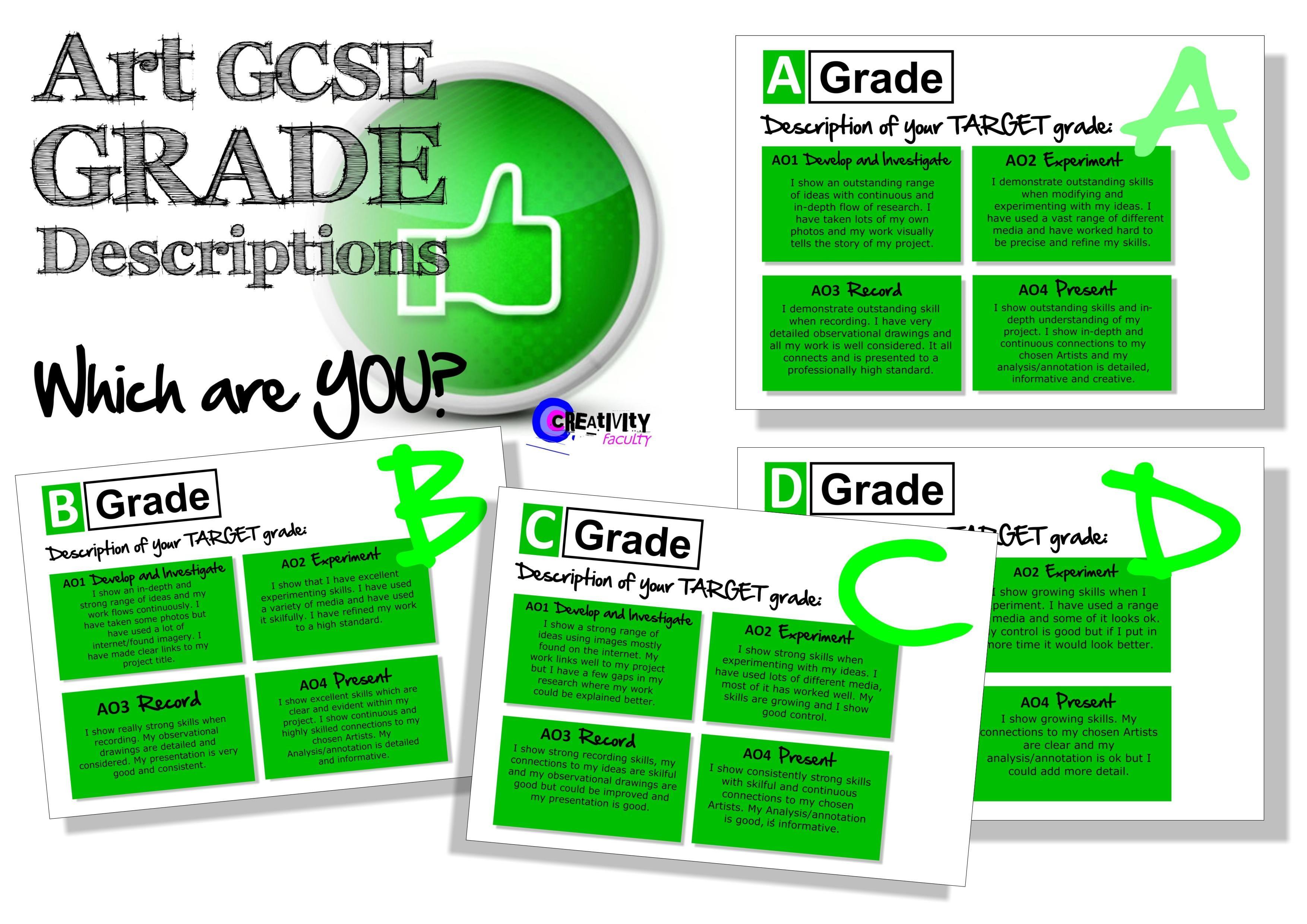 Art Gcse Grade Descriptors