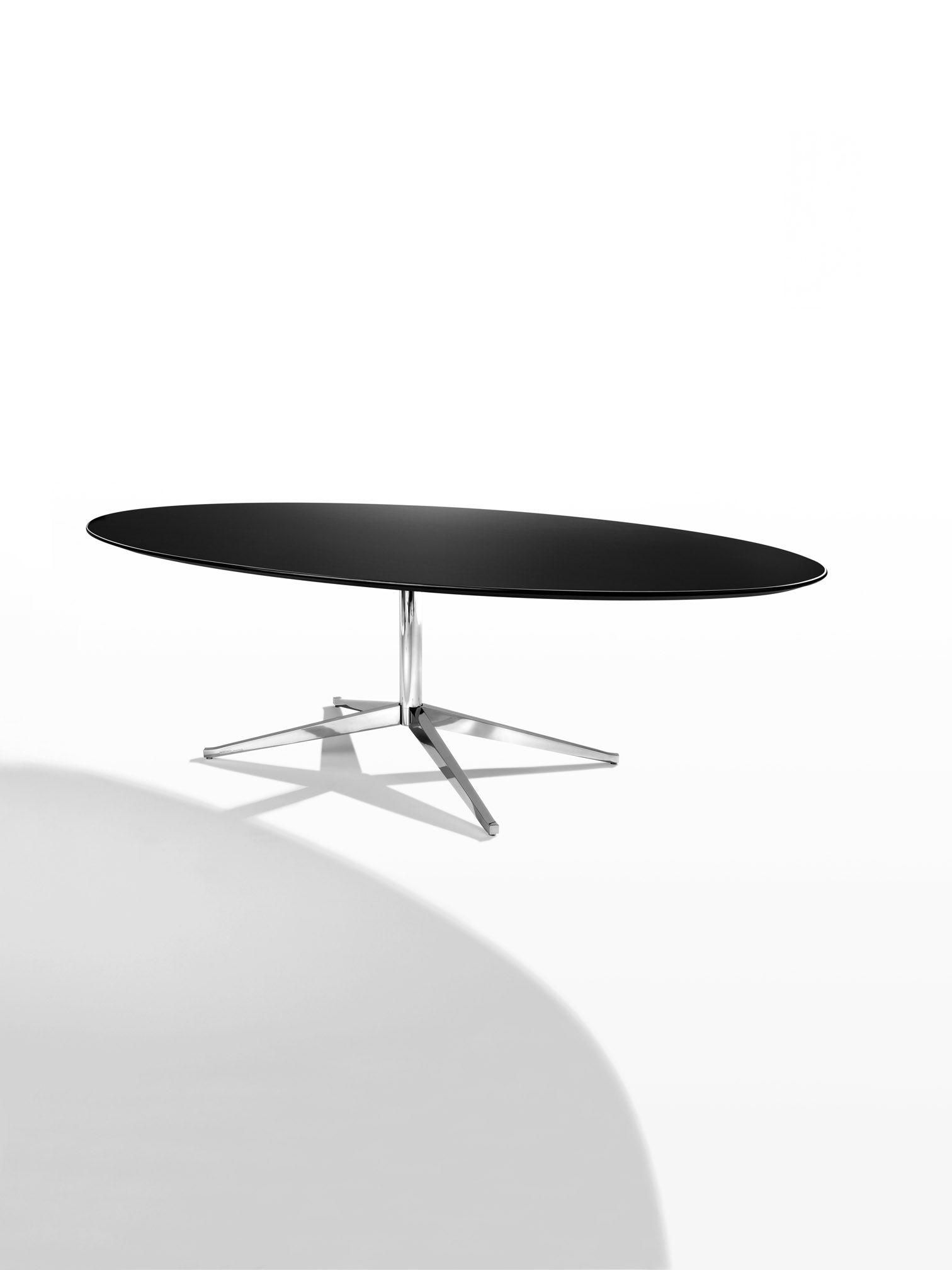 Table Florence Knoll Prix knoll florence - oval table desk | florence knoll table