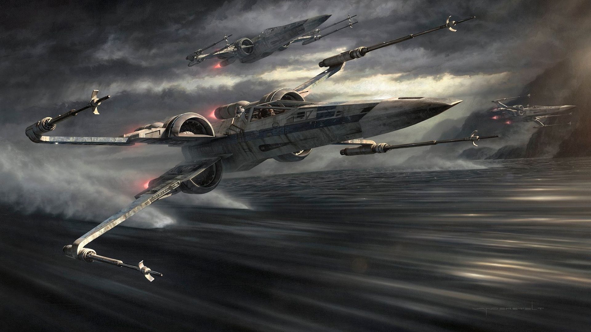 Awesome Star Wars Wallpapers Star Wars Illustration Star Wars Wallpaper Star Wars Ships