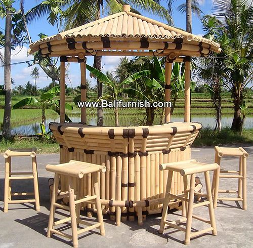 Hut2 19 Bamboo Tiki Bar Producer Bali Indonesia Diy Outdoor Bar