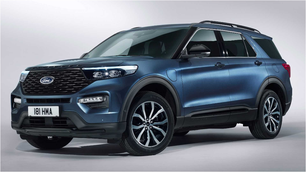2020 Ford Explorer Phev Revealed In Europe With 450 Hp Ford Explorer Ford Suv 2020 Ford Explorer