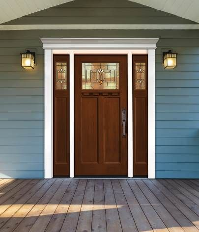Fypon Polyurethane Door Surround With Right And Left Sidelite Costs Less Than Wood Exterior Door Trim Exterior Doors House Exterior
