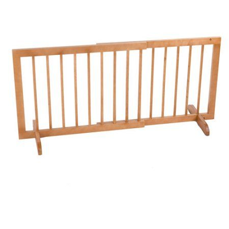 Cardinal Gates Step Over Pet Gate 28 inch to 51.75 inch wide x 20 inch tall, Beige