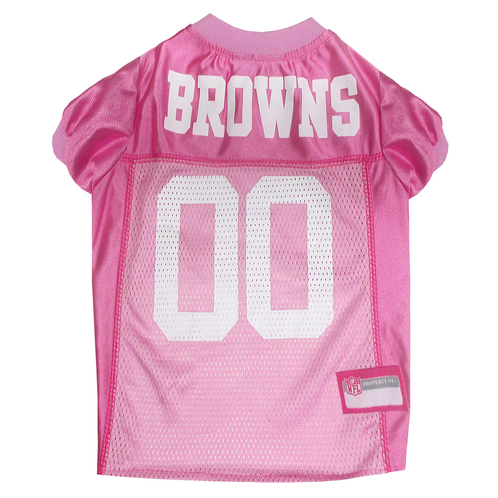 378b7d85b0d Pets First Cleveland Browns NFL Pink Mesh Jersey, Small in 2019 ...