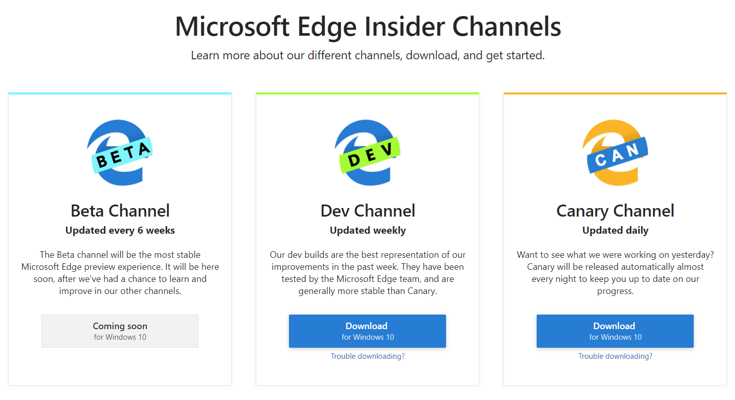 What To Expect In The New Microsoft Edge Insider Channels
