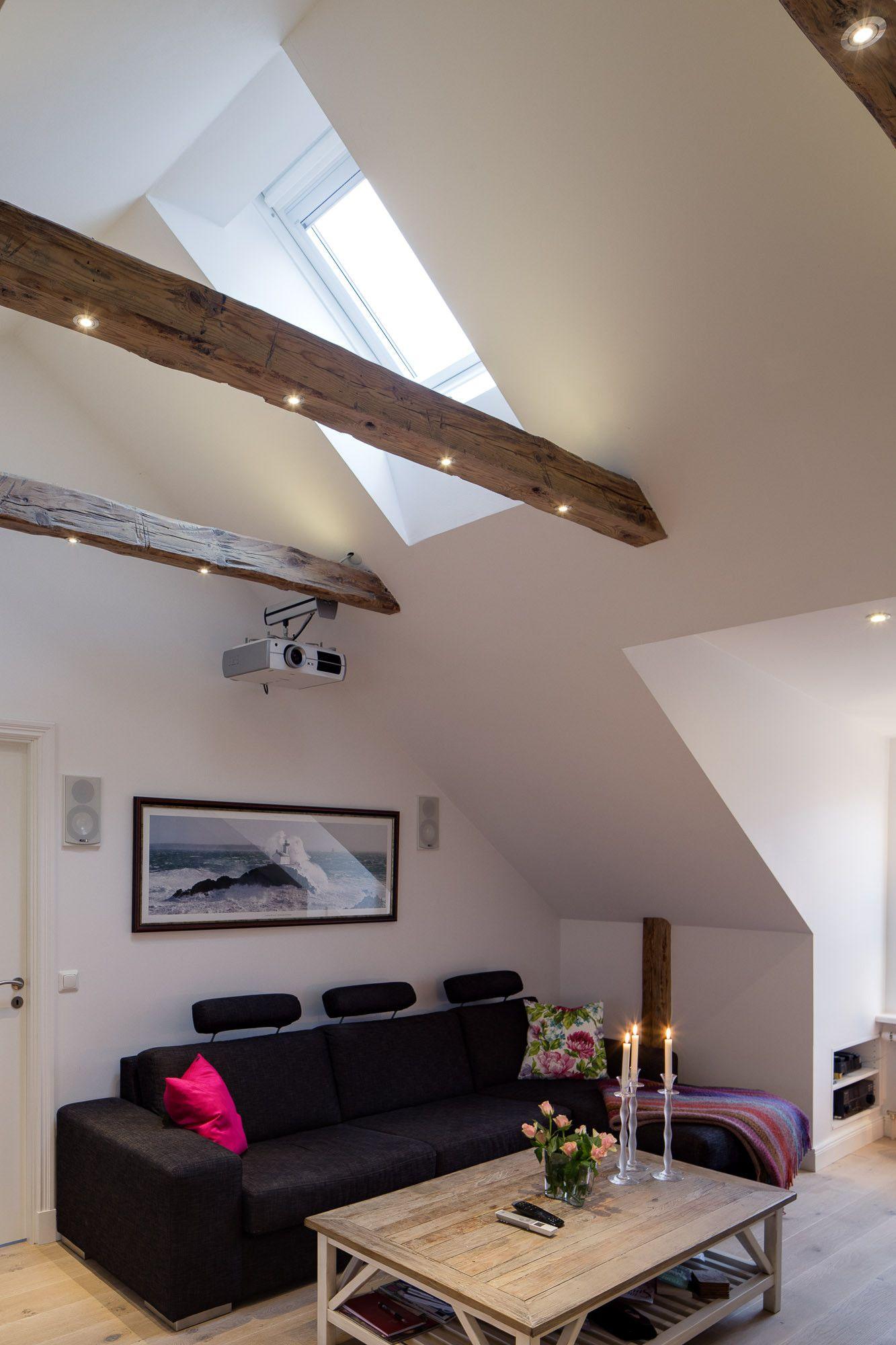 lights _in_ the beam lighting pinterest attic apartment beams and bedroom modern beams lighting