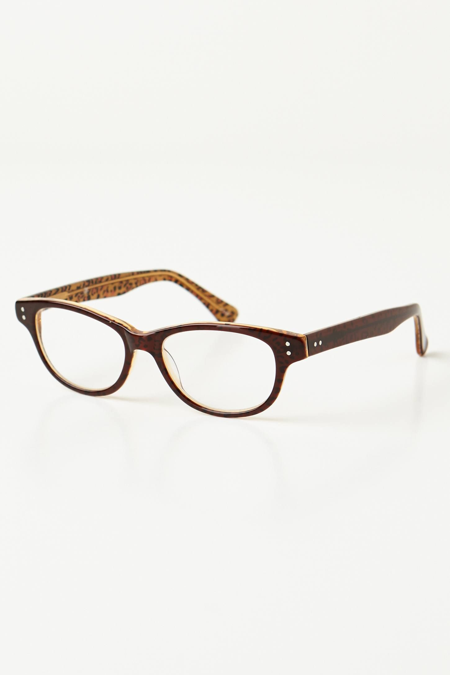 Penny Leopard Readers from anthropologie | aCcesOries | Pinterest