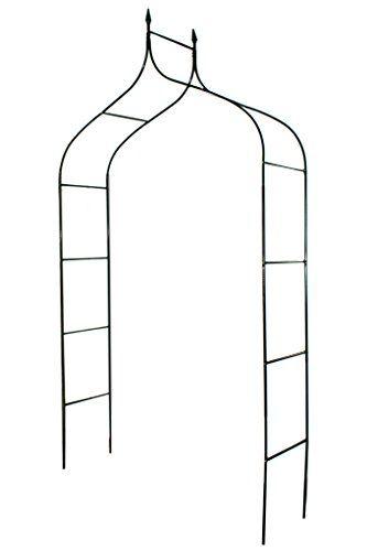 1 Go Gothic Steel Garden Arch 8 3 High X 4 5 Wide Garden