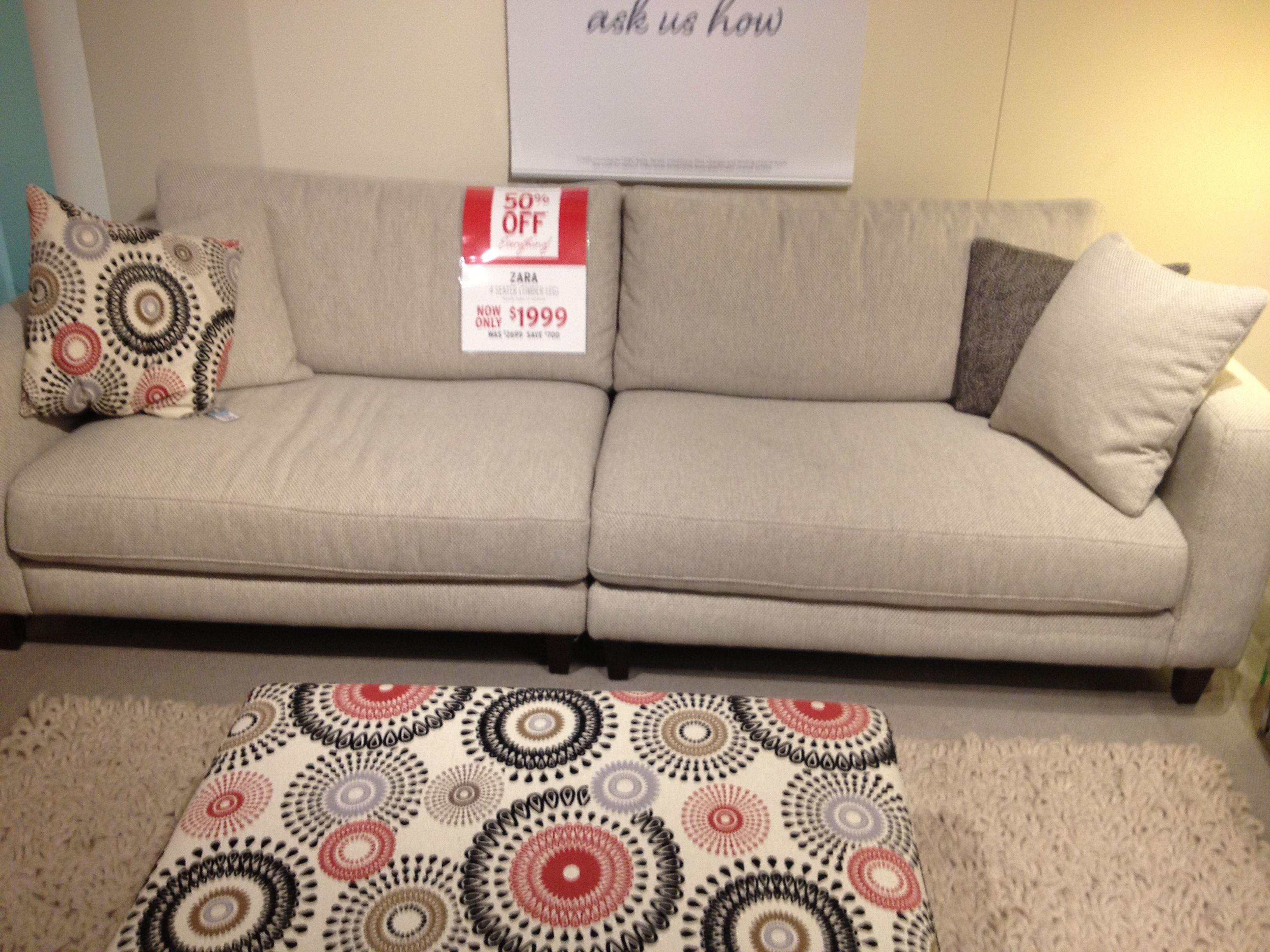 Zara sofa from Plush Armadale Pad New Decor