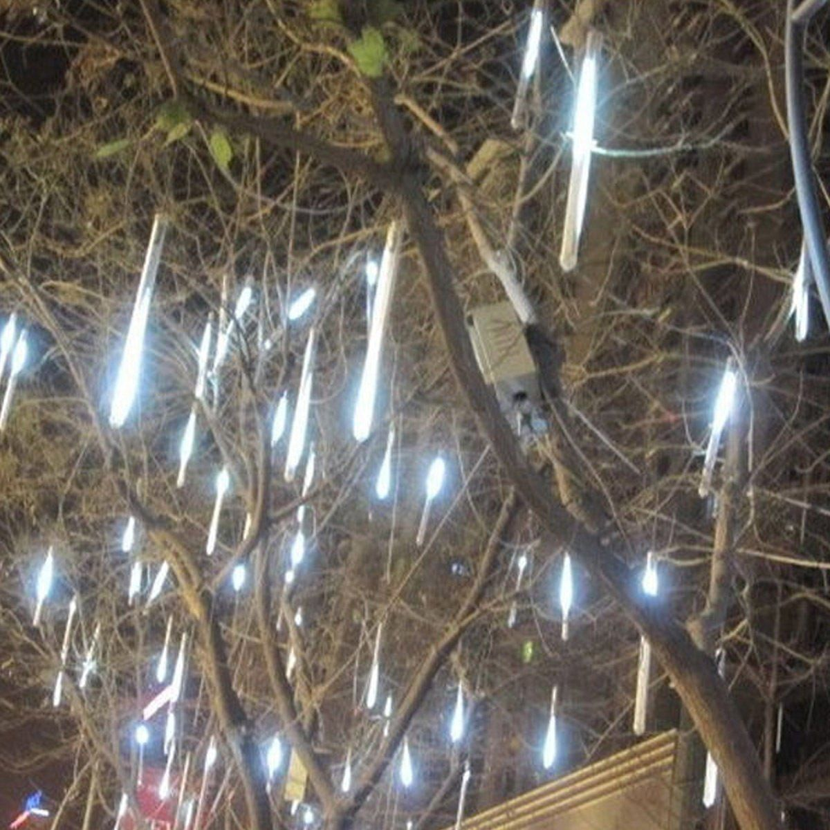 Wedding decorations trees with lights  cm cm  LED Light Meteor Shower Falling Rain Drop Snow Fall