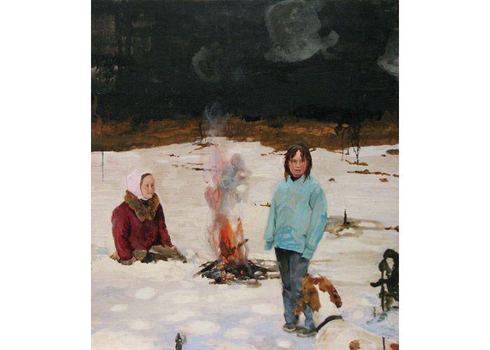 Elden (Fire) #asadavidsson #swedishpainter