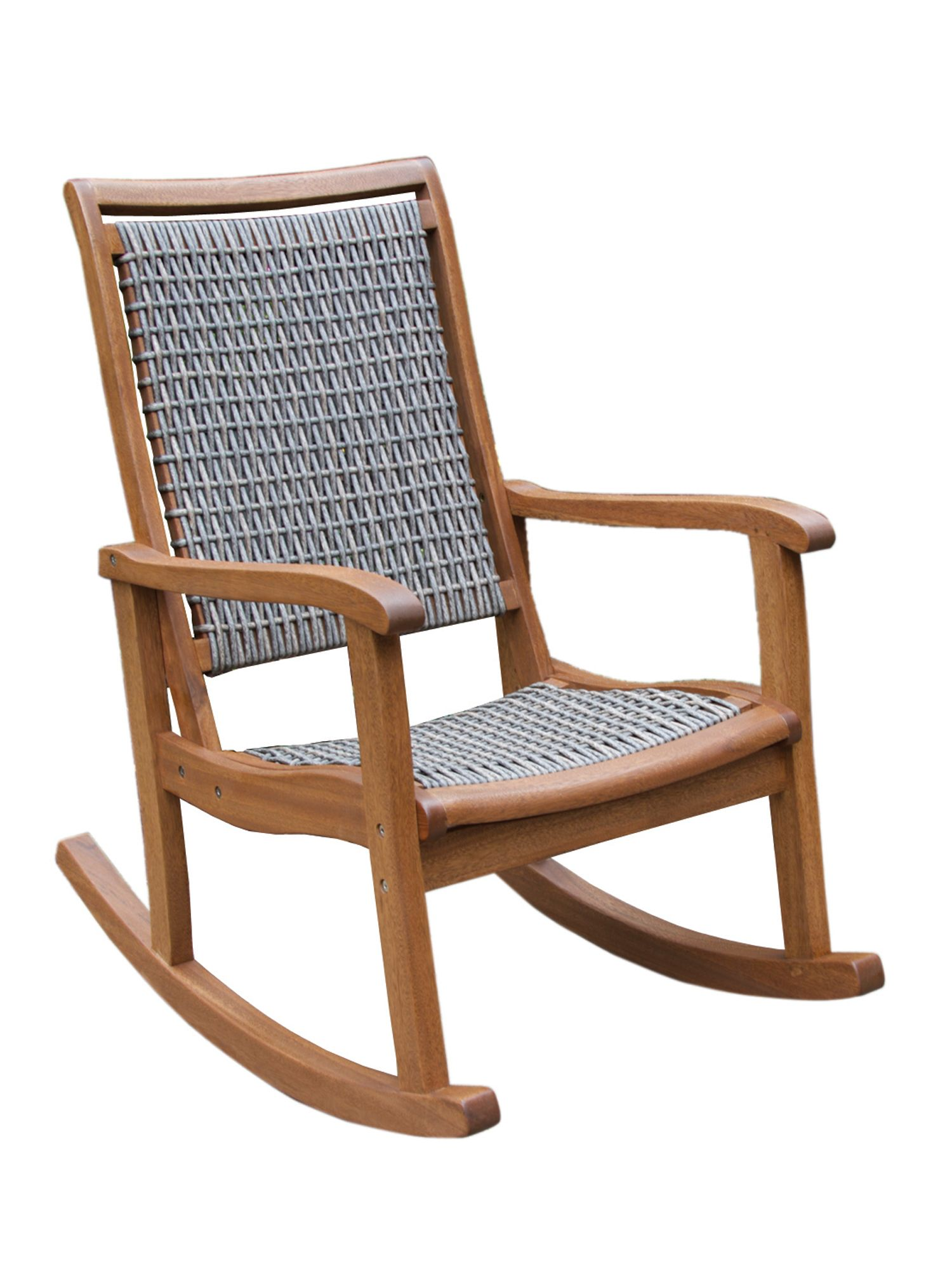 Prime Resin Wicker Eucalyptus Rocking Chair For The Home Cjindustries Chair Design For Home Cjindustriesco