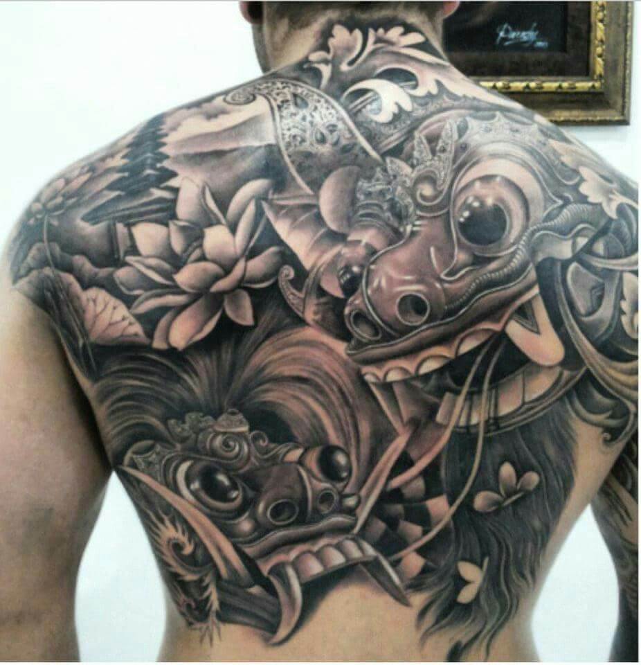 barong tattoo tattoos pinterest moda para homens para homens e homem. Black Bedroom Furniture Sets. Home Design Ideas