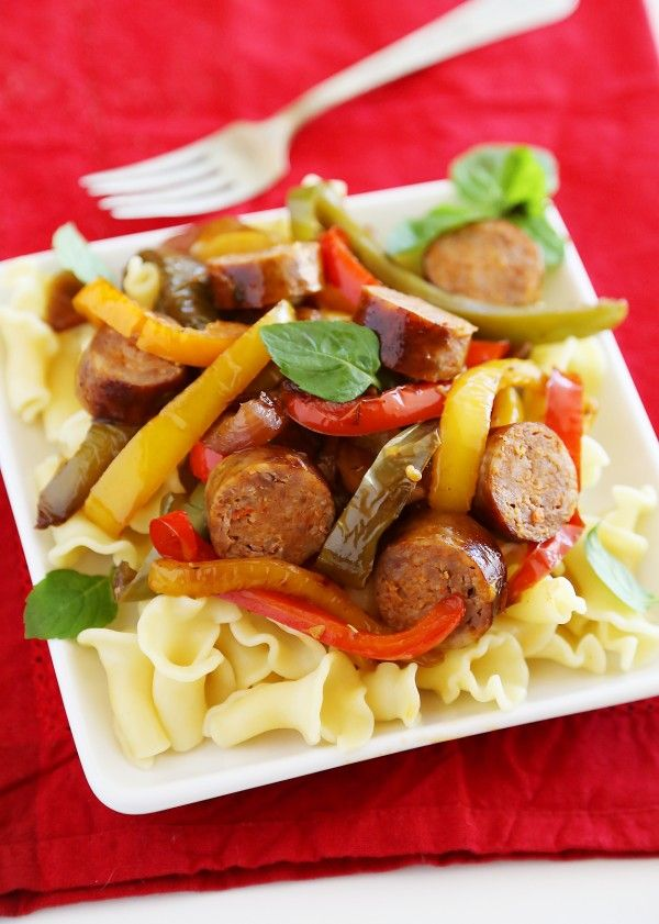 recipe: what to serve with sausage and peppers [7]