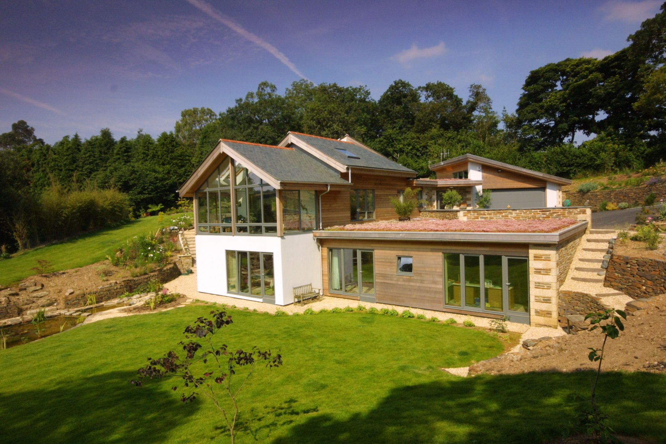 Arco Architecture Offices, Cornwall | Earth sheltered ...