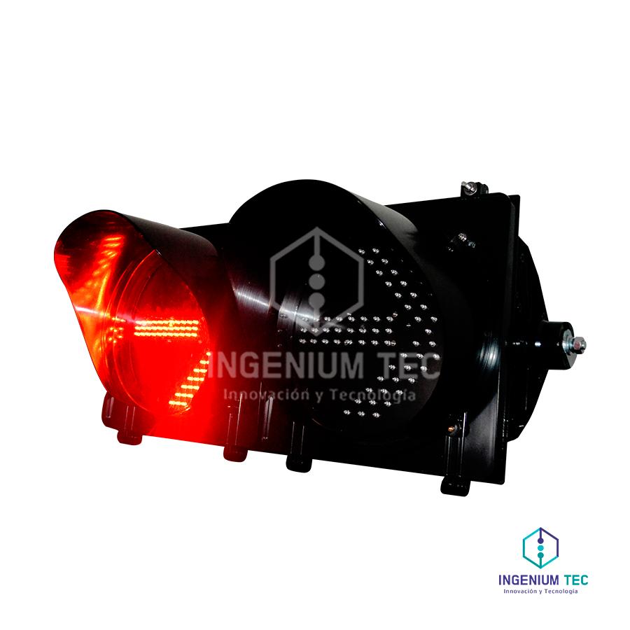 Semaforo Vehicular Flecha Led De 300mm Graphic Card Darth Electronic Products