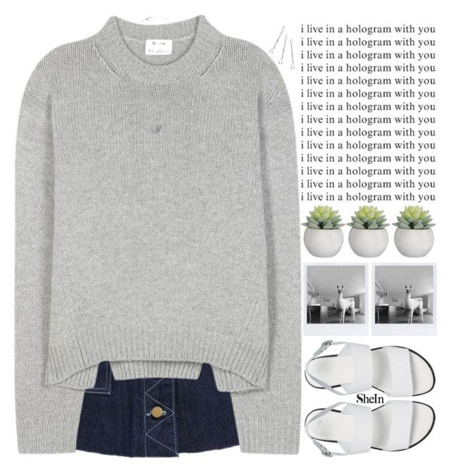 """""""please take care of yourself, it's important to do so"""" by alienbabs ❤ liked on Polyvore featuring Acne Studios, ASOS, Conair, women's clothing, women, female, woman, misses, juniors and clean"""