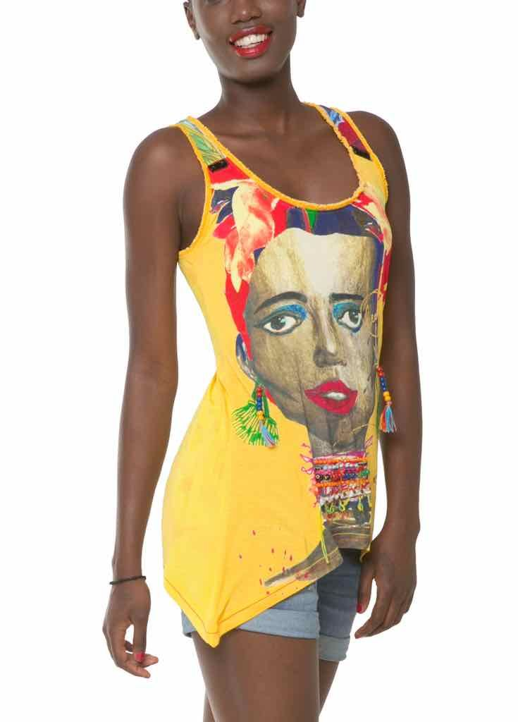 Tops Top T African Trueno 61t24d0 8042 Shirt Desigual n0Uqw0RpS