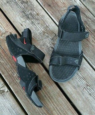 best service 30b7c e04b6 NIKE ACG (All Conditions Gear) Straprunner V Men s Sport Sandal Size 7 Black  Red
