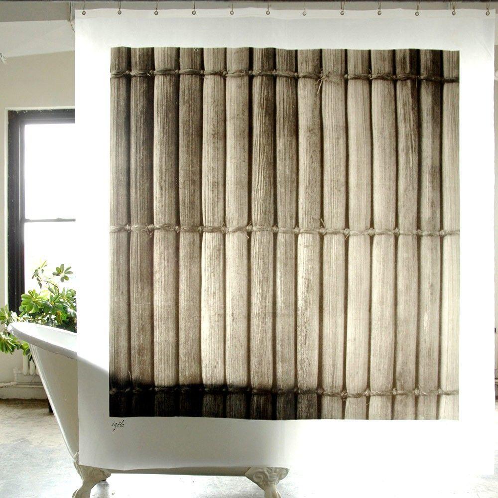 Cortina de ba o izola bamb cortina de ba o estampada que - Cortinas en blanco y negro ...
