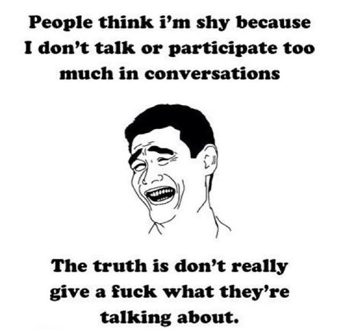 So Damn True. haha