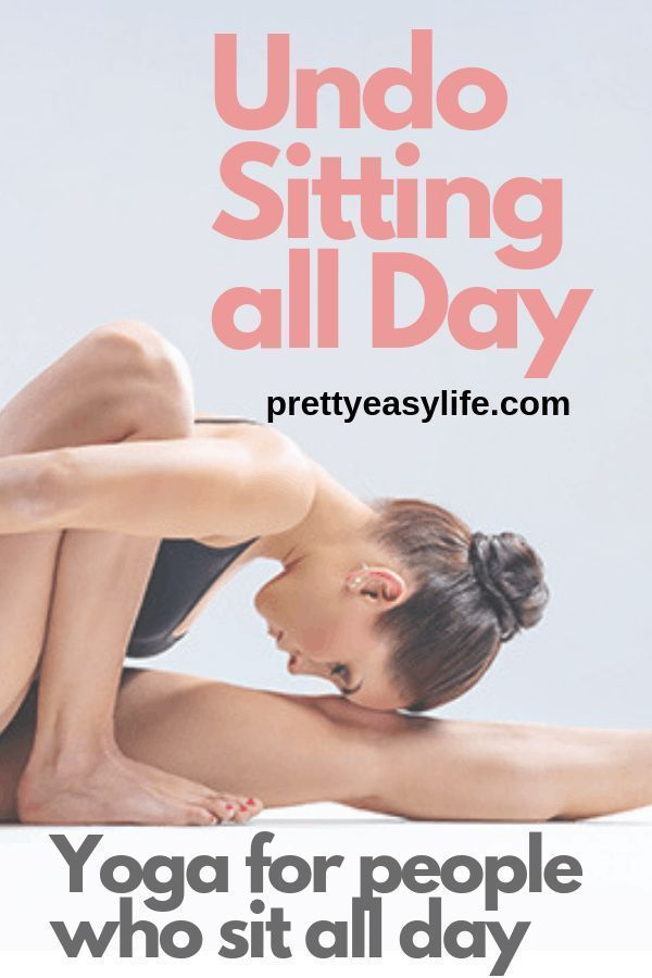 Yoga poses for sit-down people to recover after a long day at the desk | Exercise And Fitness Tips |...