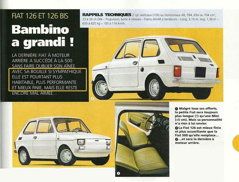 A Vendre Fiat 126 Ste Parfait Etat Fiat 126 Fiat Classic Cars