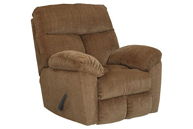 Brown Hector Recliner By Ashley Homestore Polyester 100 Recliner Rocker Recliners Furniture Prices