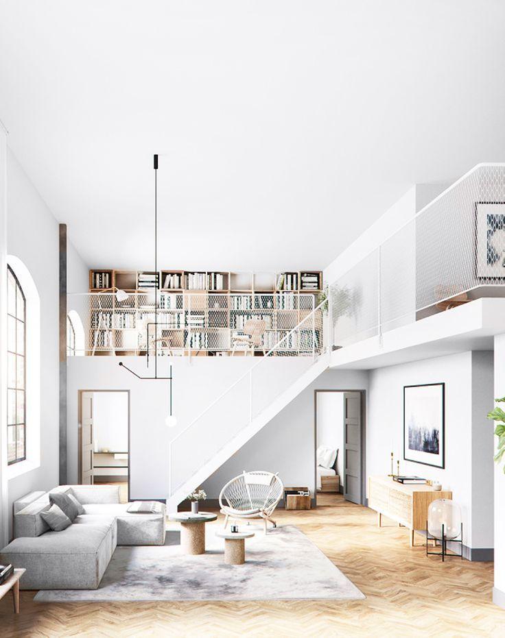Interior Design | 20 Dreamy Loft Apartments That Blew Up Pinterest - fashion landscape