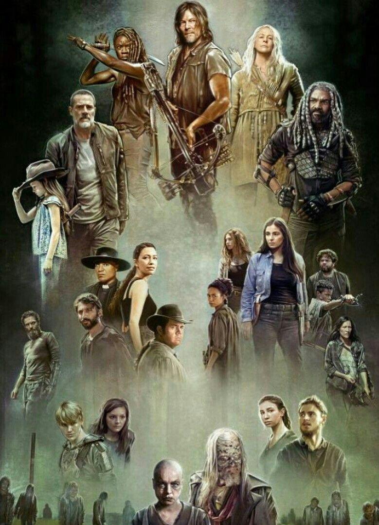 Season 9 There S A Huge Void Oh Yes Is Rick Grimes The Walking Dead Poster Walking Dead Wallpaper Walking Dead Art