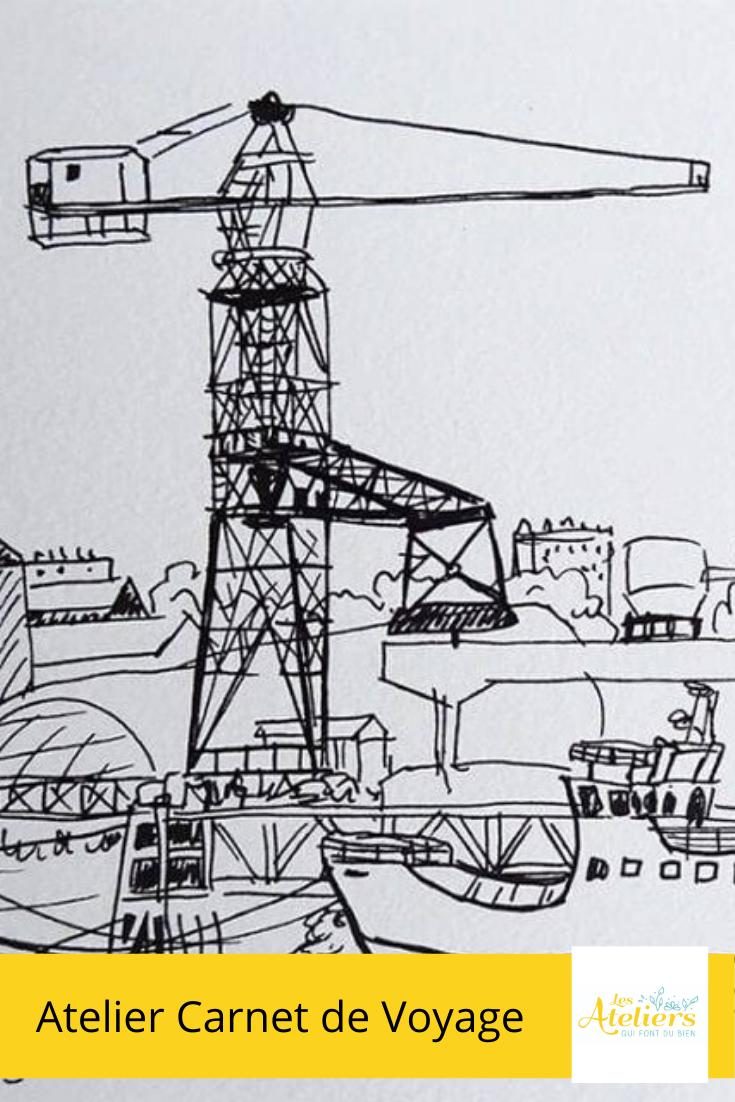 Atelier Illustration Carnet De Voyage En 2020 Carnet De Voyage Atelier Voyage