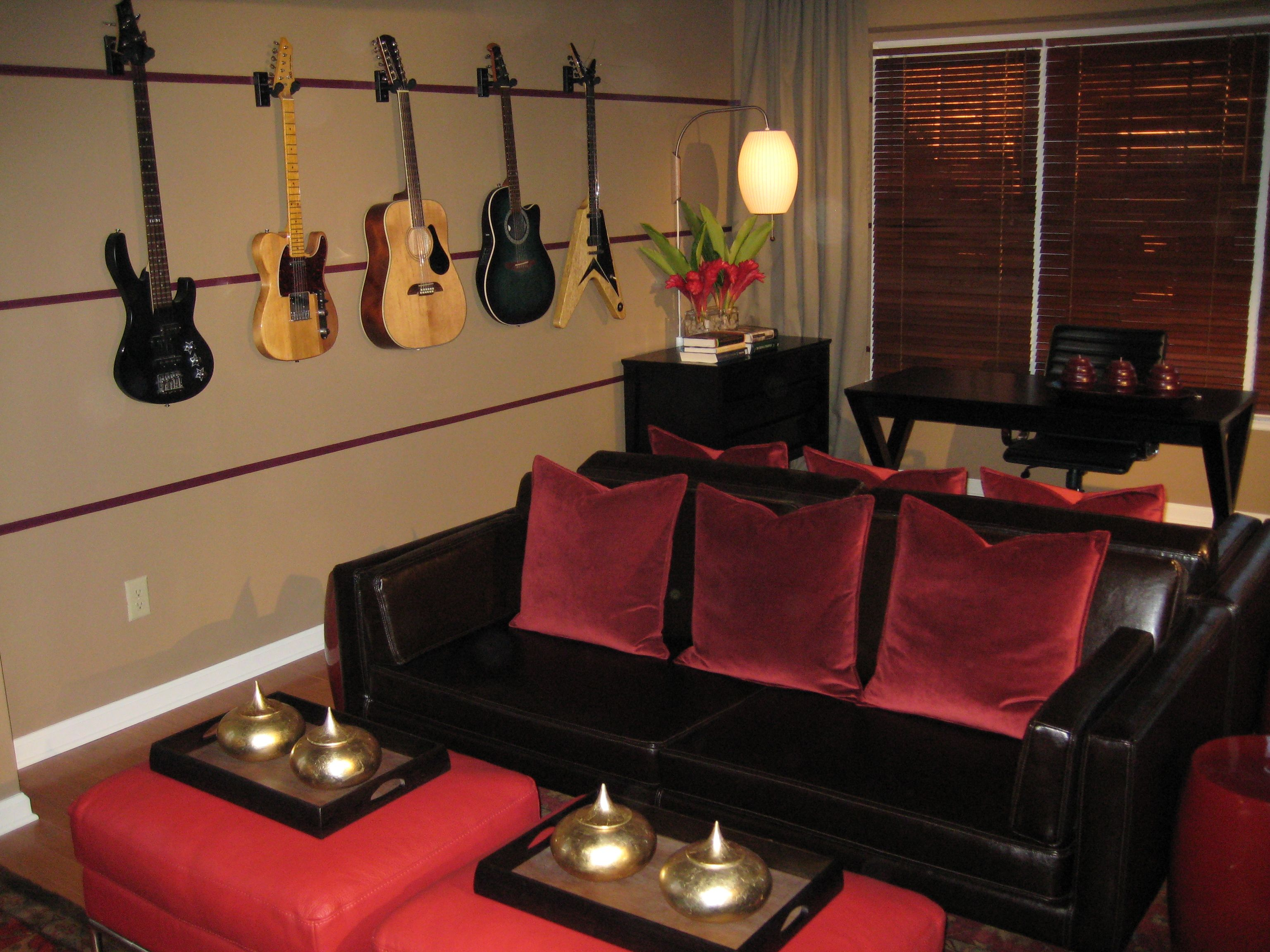 Music Room Design | What musician wouldn\u0027t want to hang out in ...