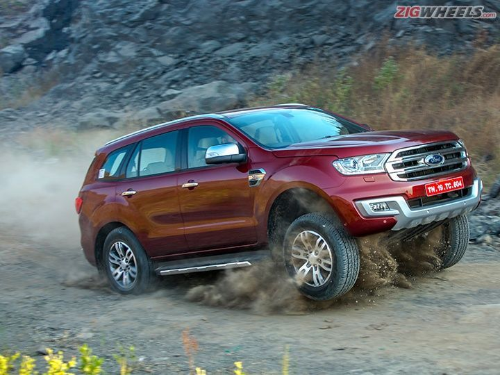2016 Ford Endeavour Detailed Review With Images Ford