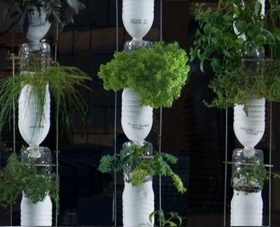 jardines verticales huertas verticales jardineras colgantes reciclo macetas verticales hechas verticales caseros maceteros diy fachadas verdes